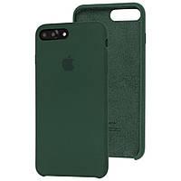 Чохол Silicone Case для Apple iPhone 7 Plus / 8 Plus Atrovirens Green
