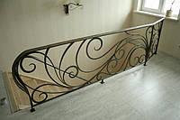 Кованые перила лестницы-11