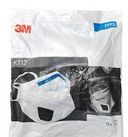 Противобактериальный респиратор 3М К112 FFP2 10шт (0026)