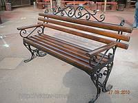 Кованные скамейки для дома