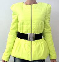 Куртка Бантик желтая, фото 1
