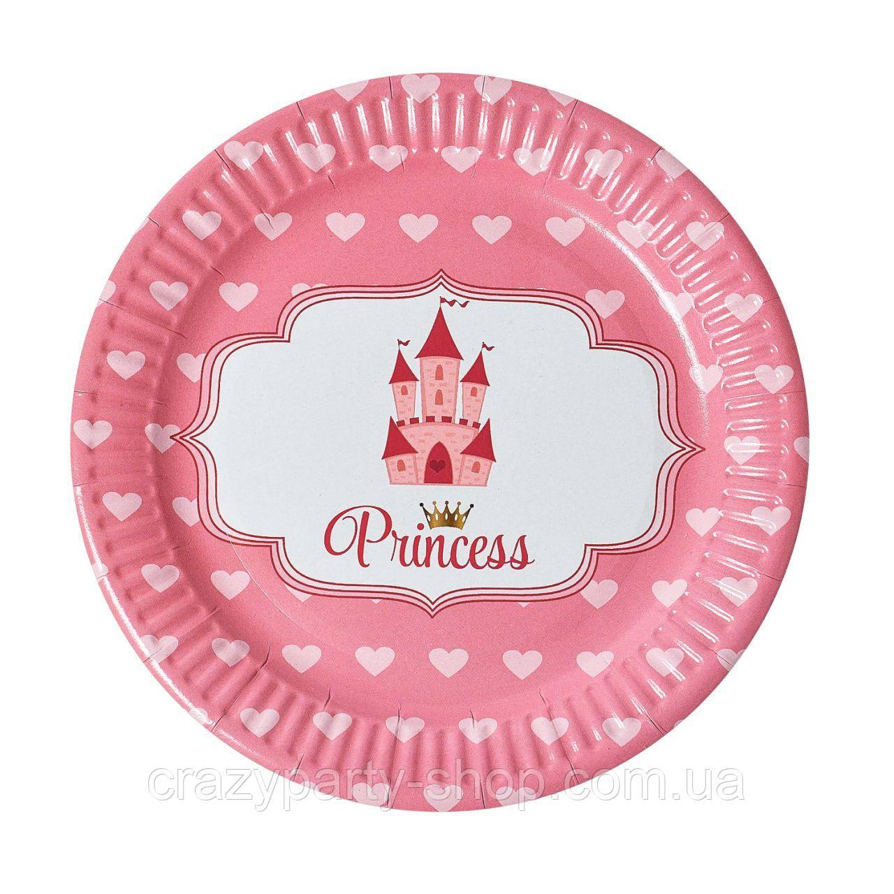 Тарелочка праздничная  Принцесса