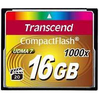 Карта памяти 16Gb Compact Flash 1000x