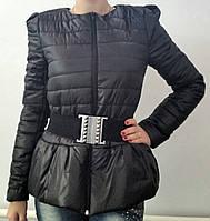 Куртка Бантик черная, фото 1