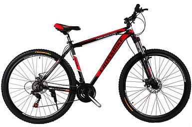 """Горный алюминиевый велосипед 29"""" CROSS HUNTER DD на 175-200см Shimano LockOut"""