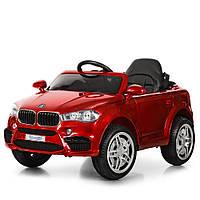 Електромобіль дитячий в стилі BMW (M 3180EBLRS-3)   Фарбований корпус, пульт 2,4 G, 2 мотора 30W, колеса EVA,