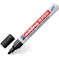 Маркер строительный Edding 8750 industry paint marker (черный)