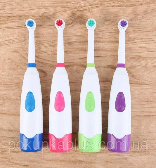 Электрическая зубная щетка дорожняя Electric ToothBrush К-11 с насадкой