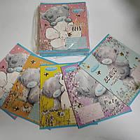 Набір із 25 зошитів в клітинку по 12 аркушів