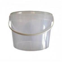 Відро для меду( прозоре) 5 л