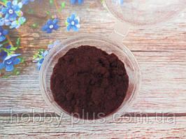 Ворсовой порошок (бархатная пудра, флок) КОРИЧНЕВЫЙ, 5 грамм
