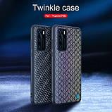 Nillkin Huawei P40 Twinkle case Silver Чехол Бампер, фото 5