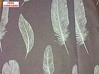 Європростирадлона резинці - Перо коричневе, верх