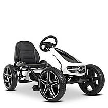 Дитяча педальная машина веломобіль Карт M 4271E-1 колеса EVA резина