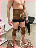 Грубий лікувальний пояс із верблюжої шерсті (зігрівання і фіксація) Туреччина, Розміри в описі, фото 6