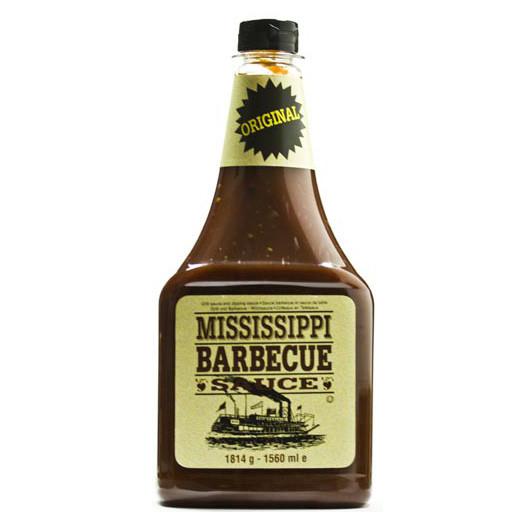 Соус BBQ Mississippi Original, 1814г, 9шт/ящ