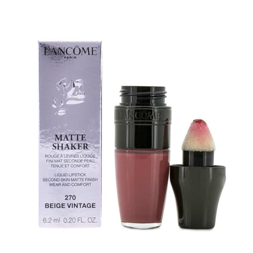 Жидкая матовая помада Lancome Matte Shaker Liquid Lipstick №270 Beige Vintage (3614271684752)