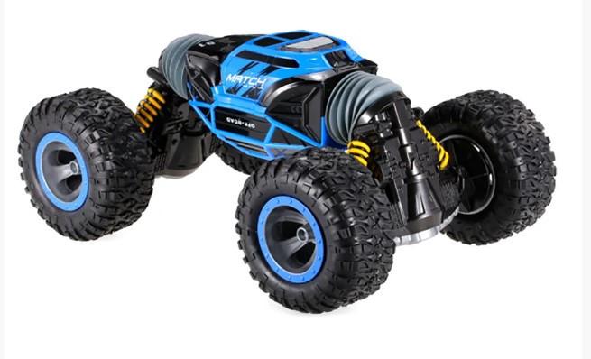 Машинка перевёртыш на радиоуправлении Hyper UD 2168A 48 см 1:8 Синяя BIG