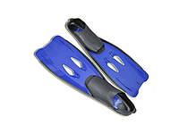 Ласты SPRINTER синие с закрытой пяткой. Размер 42-43.