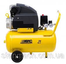 Компресор ABAC Pole Position B15, 24л, 160л/хв, 8бар,1.1кВт,230/50/1,18кг, 2450об/хв