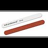 Пилка для ногтей Прямая White/Brown 180/240 Kodi Professional