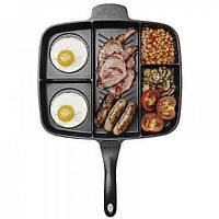 Гриль сковорода Magic Pan 32x28 см сковородка универсальная