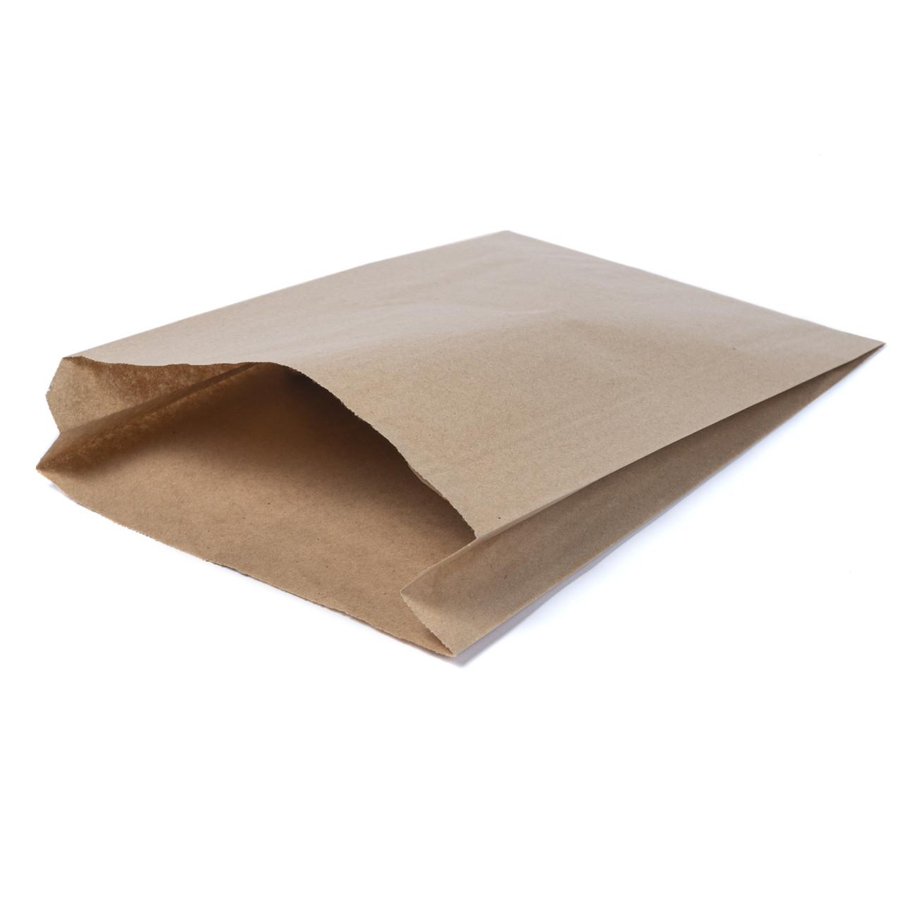 Бумажный пакет 220мм*60мм*340мм бурый
