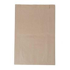 Бумажный пакет 220мм*60мм*340мм бурый, фото 2