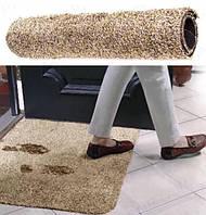 Придверный супервпитывающий коврик Clean Step Mat для прихожей / под дверь / для ног