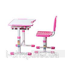 Комплект парта и стул-трансформеры FunDesk Sole Pink, фото 3
