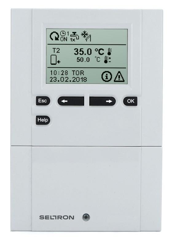 Контроллер для системы отопления SELTRON SGC67HV с датчиками температуры (5×TF)