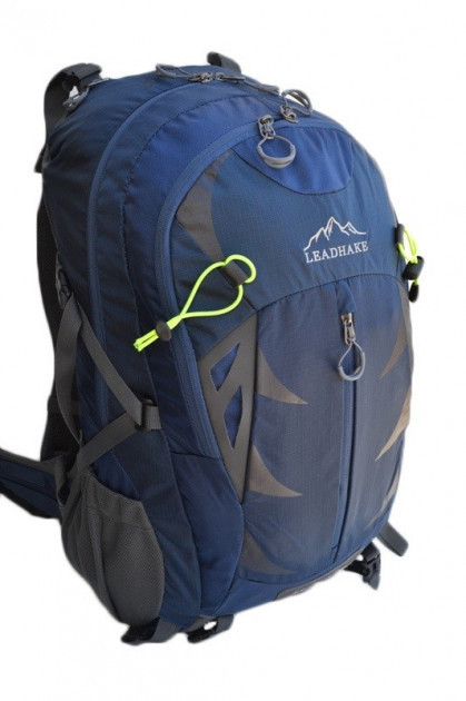 Рюкзак туристический  Leadhake 964 (35 литров) темно синий