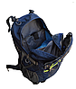 Рюкзак туристический  Leadhake 964 (35 литров) темно синий, фото 3