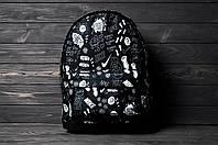 Рюкзак мужской женский Nike non-stop черный городской спортивный портфель сумка Найк