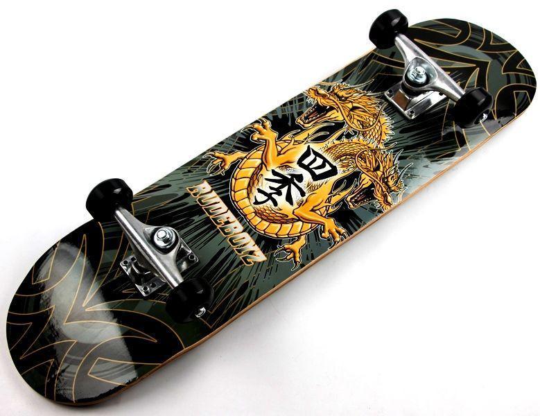 Скейтборд деревянный Scale Sports Dragon