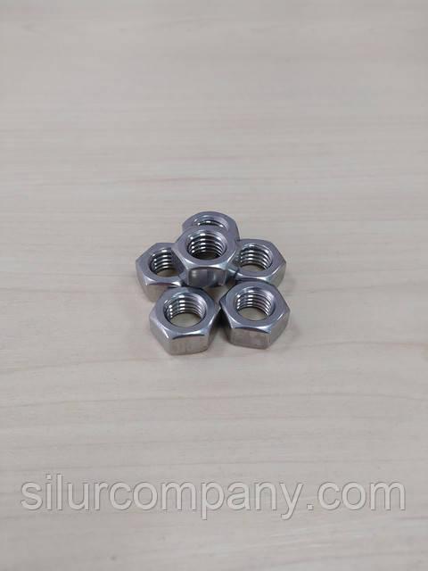 Гайка нержавеющая М12 ГОСТ 5915-70 А4 сталь