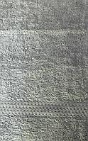 Рушник махровий сіре 40*70