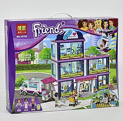 "Конструктор Friends 10761 ""Клиника Хартлейк-Сити"", 887 деталей"