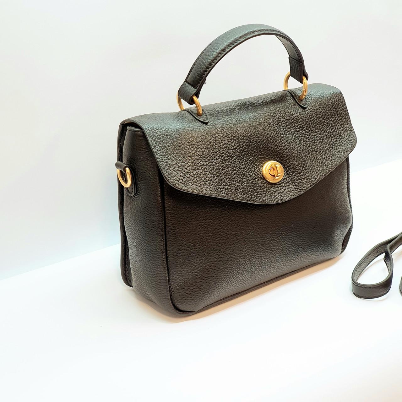 Жіноча винна сумочка з натуральної шкіри