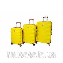 Чемодан Bonro Next набор 5 шт. желтый, фото 2