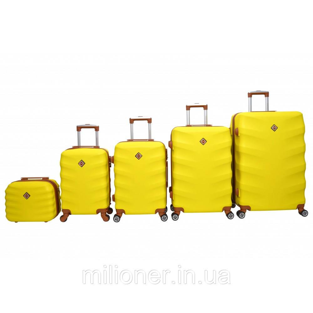 Чемодан Bonro Next набор 5 шт. желтый