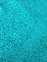 Полотенце махровое бирюзовое 70*140