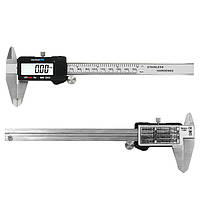 6-дюймовый 0-150 мм измерительный инструмент, штангенциркуль из нержавеющей стали, цифровой штангенциркуль
