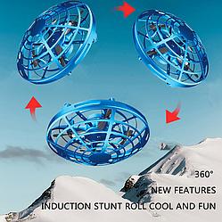 НЛО Квадрокоптер UFO дрон на радиоупралвении вертолет
