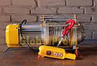 Лебедки электрические Китай до 1,5 тонны с тросом до 100 м, фото 2