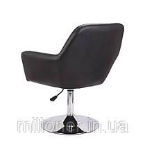 Кресло хокер Bonro B-1011 черное, фото 3