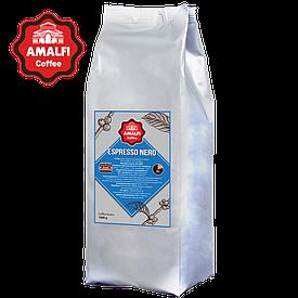 Кофе в зернах Amalfi Espresso NERO (1 кг) 20% арабика, 80% робуста
