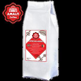 Кофе в зернах Amalfi Espresso AROMA (1 кг) 50% арабика, 50% робуста