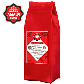 Кофе в зернах Amalfi Espresso ORO (1 кг) 70% арабика, 30% робуста