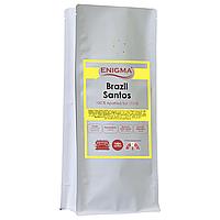 Кофе в зернах арабика Enigma Brasil Santos (1 кг)